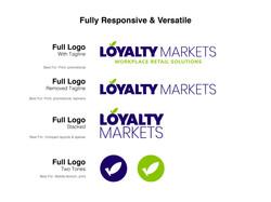 Loyalty Markets Responsive Logo