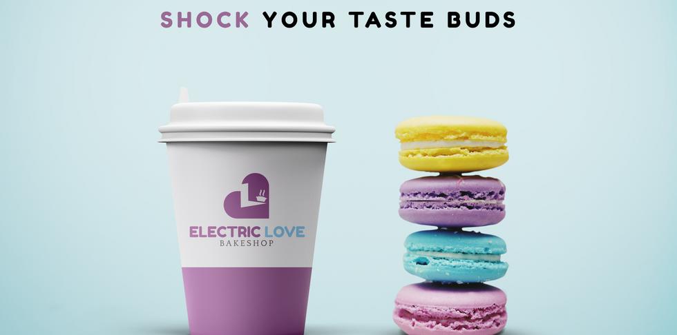 Electric Love Bakeshop - Logo + Branding