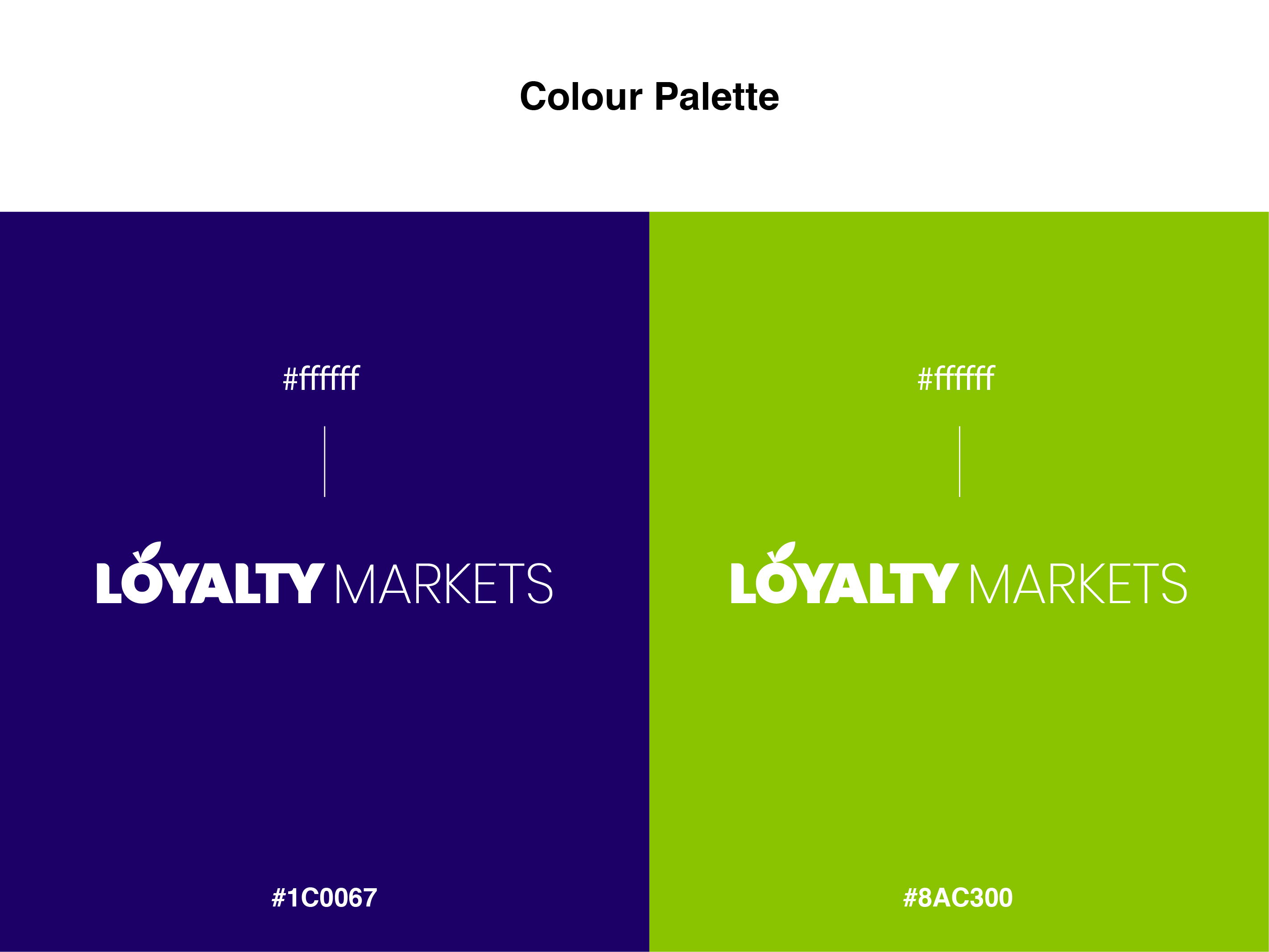 Loyalty Brand Colours