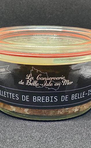 Rillettes de brebis de Belle-Isle en mer