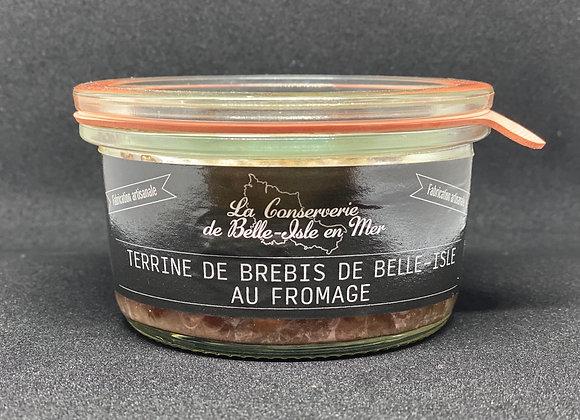 Terrine de brebis de Belle-Isle au fromage.