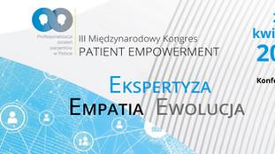 Ogłaszamy III Międzynarodowy Kongres Patient Empowerment