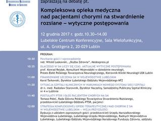 Konferencja na temat stwardnienia rozsianego / Lublin