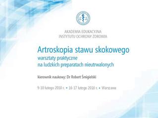 Warsztaty z artroskopii stawu skokowego