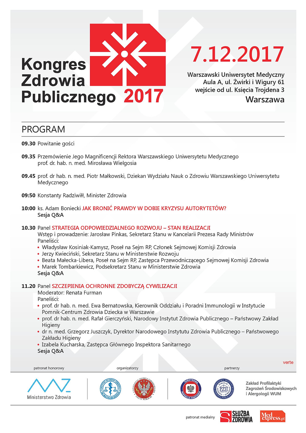 Program KZP strona 1