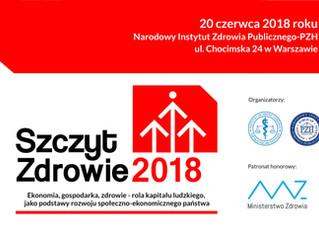 Szczyt Zdrowie 2018 - Rola kapitału ludzkiego jako podstawy rozwoju społeczno-ekonomicznego państwa