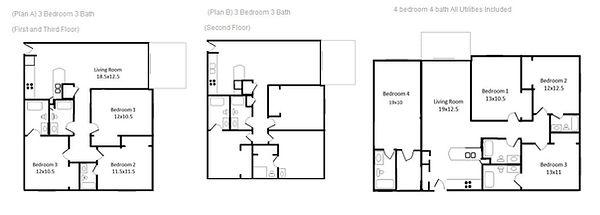 Bramble Oak 3 and 4 Bedroom Plan