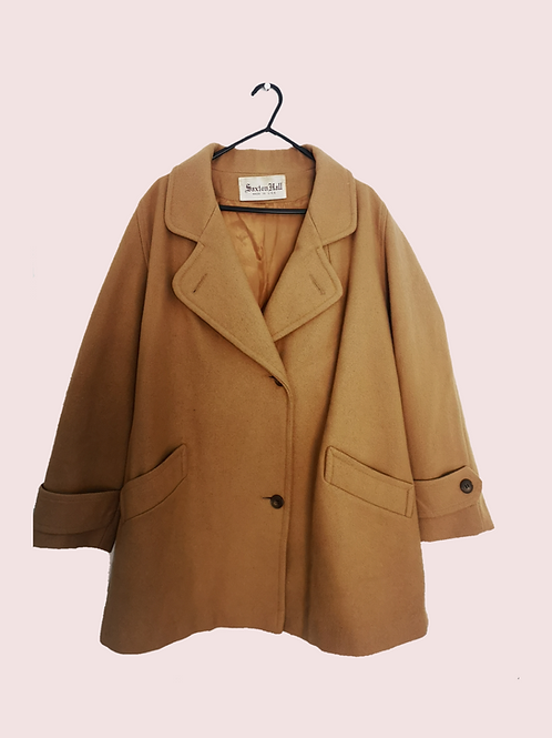 Saxton Hall Vintage Tan Coloured Coat