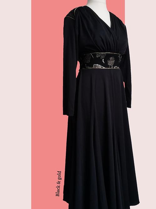 1980's glam dress