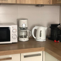 SolineHome Brela | House for rent | Kitchen appliances