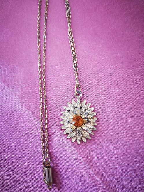 60's sunburst necklace