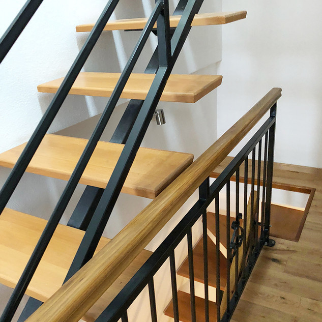 SolineHome Brela | House for rent | 2nd floor stairs