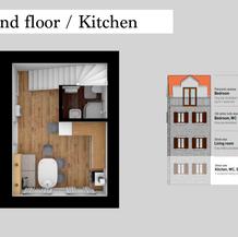SolineHome Brela | Ground floor 3D plan