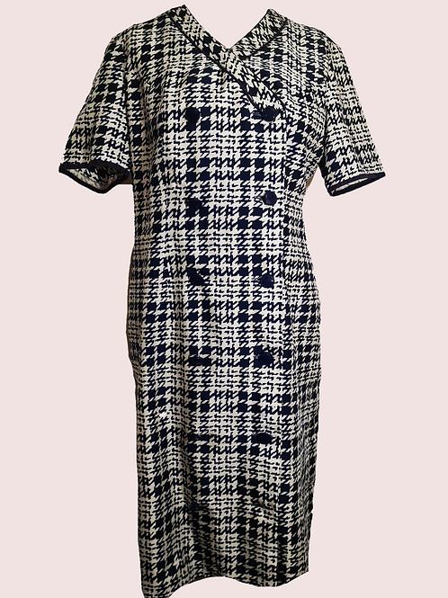 Vintage Dogtooth dress