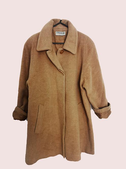 Snuggly Tan Coat