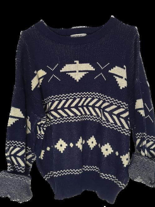 80s knit jumper