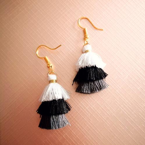 Shady lady tassel earrings