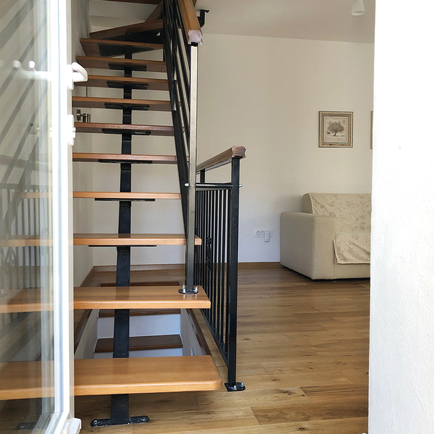 SolineHome Brela | House for rent | Stairs to upper floor