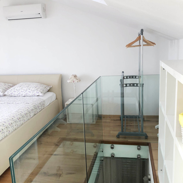 SolineHome Brela | House for rent | 3rd floor entrance from the stairs