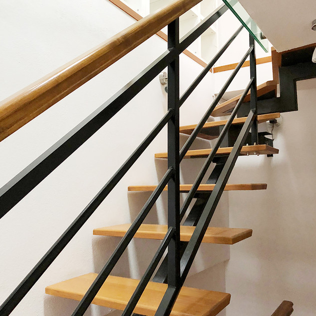 SolineHome Brela | House for rent | Stairs on the 3rd floor