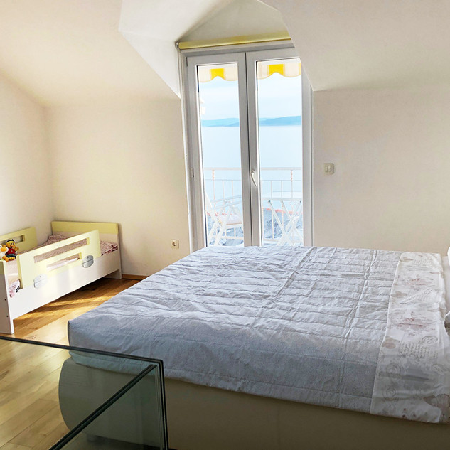 SolineHome Brela | House for rent | Double bed