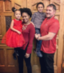 Evangelist Andy Gavin and his family.