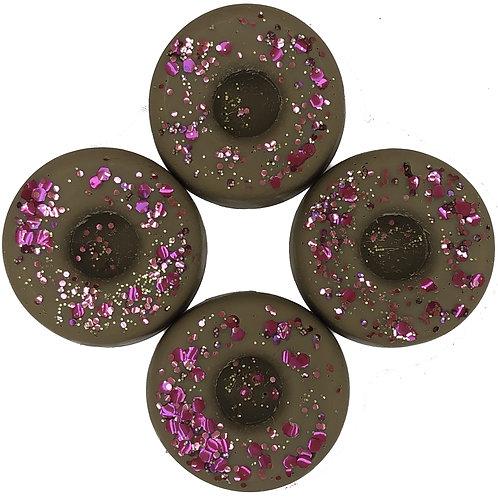 Dark Cedarwood & Juniper WaxMelt Donuts