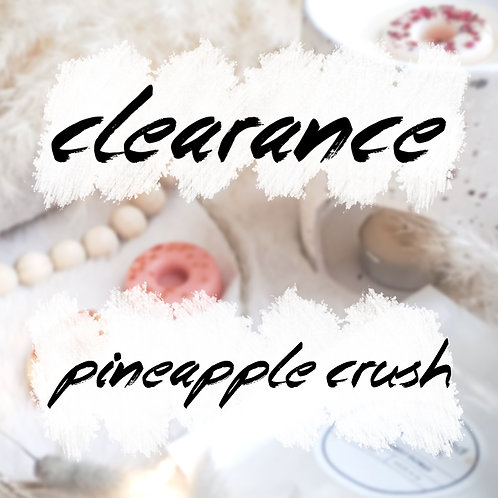 Pineapple Crush WaxMelt Donuts