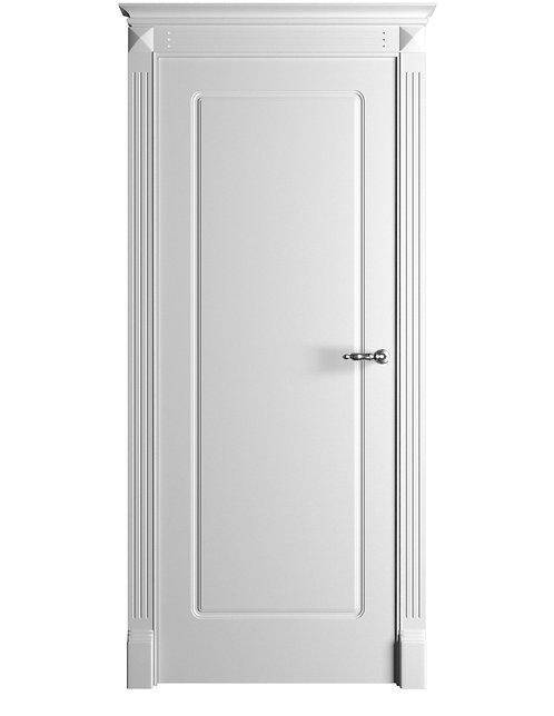 Окрашенная дверь Standart 14 RAL-белый