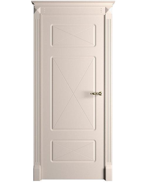 Окрашенная дверь Standart Х3 RAL-9001