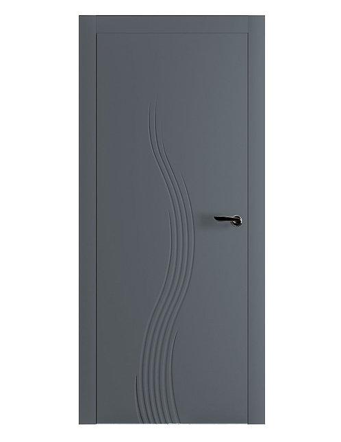Окрашенная дверь TOLSTOI Рал-7011