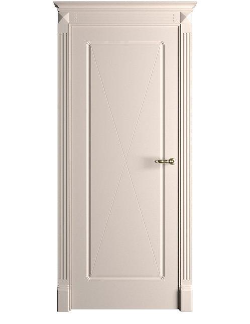 Окрашенная дверь Standart 14 RAL-9001