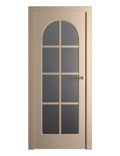 Окрашенная дверь Standart_195 RAL-1019