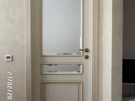 Двери межкомнатные окрашенные