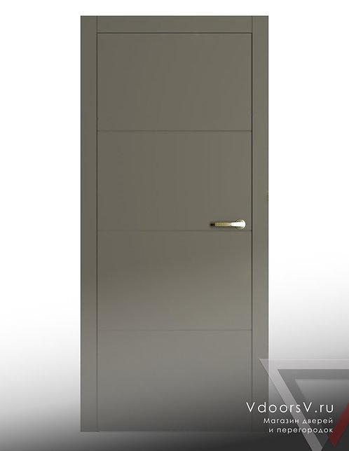 Окрашенная дверь S-3 RAL-7039