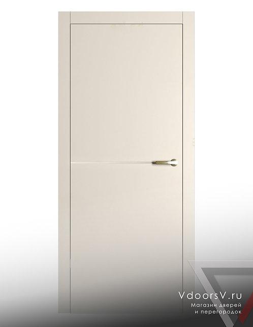 Окрашенная дверь L-1 RAL-9001