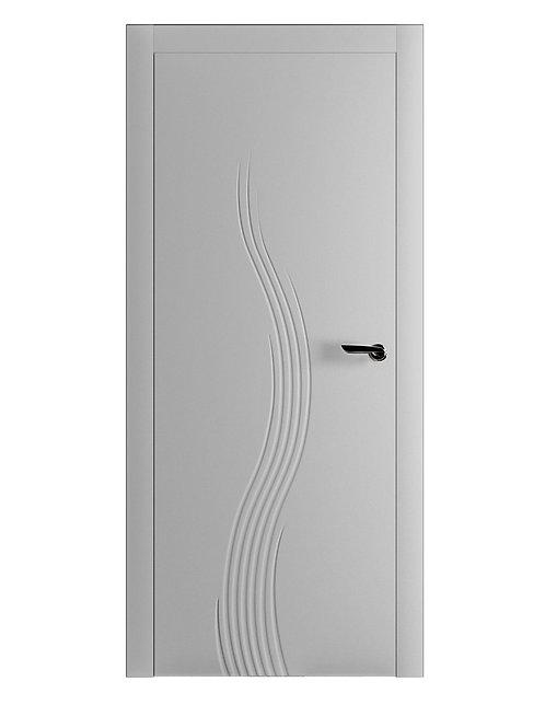 Окрашенная дверь TOLSTOI Рал-7035