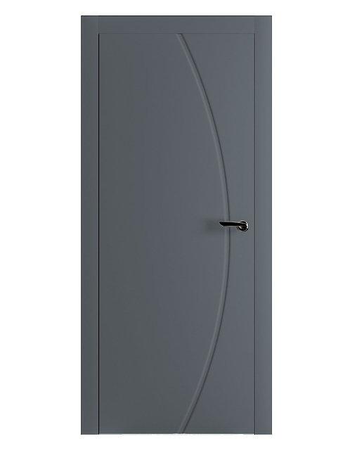 Окрашенная дверь BACON Рал-7011