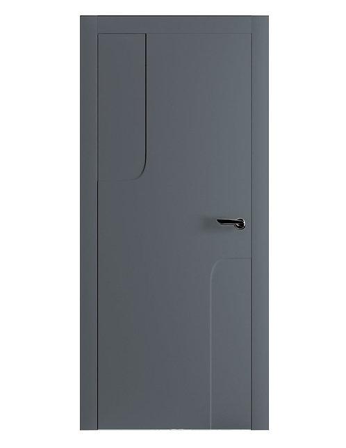 Окрашенная дверь RENOIR Рал-7011