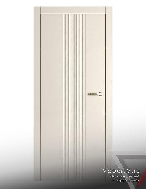 Окрашенная дверь Дождь RAL-9001.