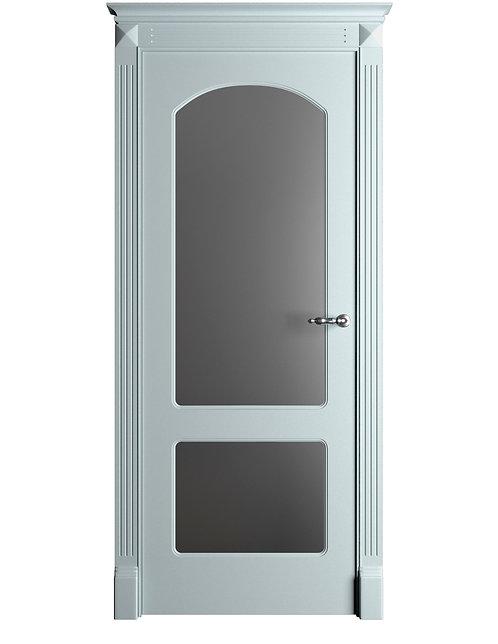 Окрашенная дверь Standart 05/2 RAL-7035