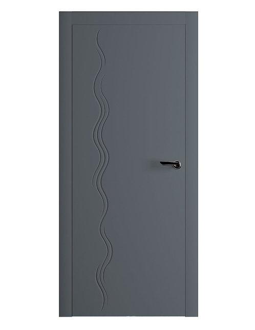 Окрашенная дверь NERUDA Рал-7011