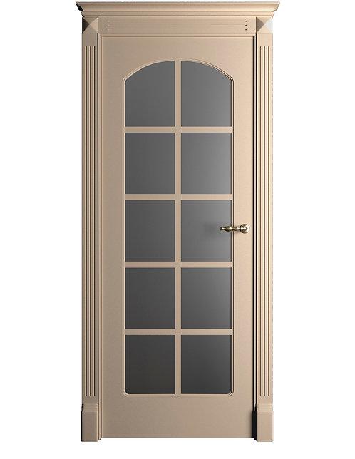 Окрашенная дверь Standart 051/Р RAL-1019