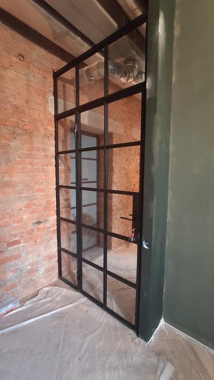 Лофт конструкции с распашными дверями и фрамугами. Б. Сергиевский пер. 10.