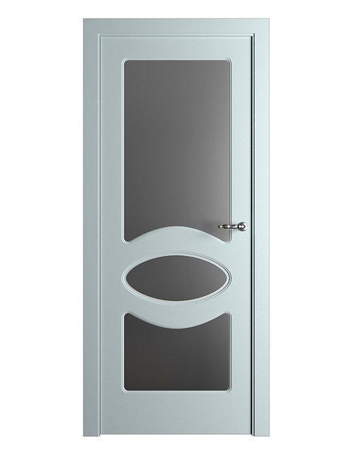 Окрашенная дверь Standart 04/3 RAL-7035