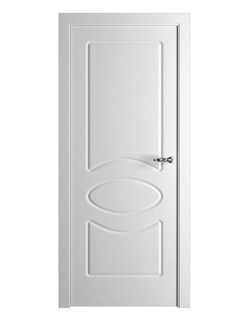 Окрашенная дверь Standart 4 RAL-белый.