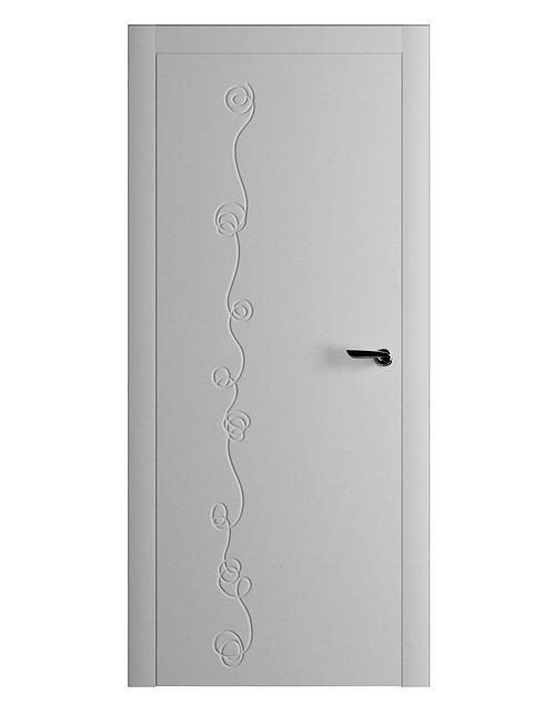 Окрашенная дверь LORCA Рал-7035