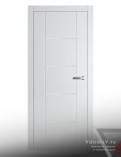 Окрашенная дверь S2-S4 RAL-белый