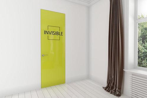 Дверь скрытого монтажа окрашенная.