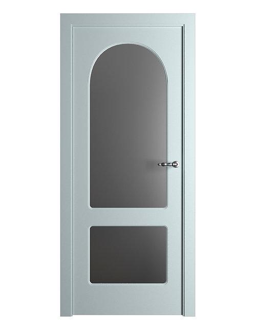 Окрашенная дверь Standart 06/2 RAL-7035